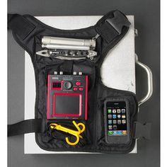 grab it pack gadget holster stuff Superhero Suits, Edc Bag, Tactical Clothing, Tactical Gear, Tac Gear, Survival Gear, Survival Clothing, Survival Guide, Its My Bday