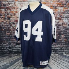 5c501bfd2 DeMarcus Ware Dallas Cowboys Jersey Sewn Authentic NFL Reebok Throwback  Mens 3XL  Reebok  DallasCowboys