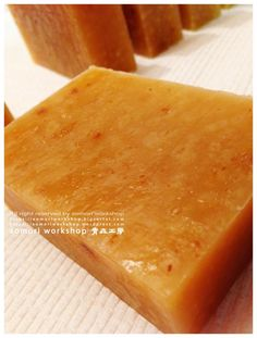Brown Sugar and Ginger Soap