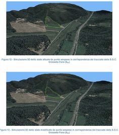 Modello 3D per relazione paesaggistica
