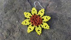 Naušnice Slunečnice Crochet Earrings, Jewelry, Jewlery, Jewerly, Schmuck, Jewels, Jewelery, Fine Jewelry, Jewel