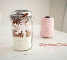 DIY Gift Guide: Gingerbread in a Jar
