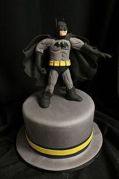 Batman Cake made by Amanda Oakleaf Cakes