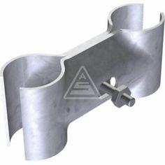 Rohrschelle für Stahlrohr Pfosten Schilderpfosten Rohrpfosten Ø 60 mm Schellen