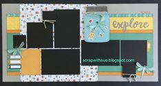 """April Club Kit -""""Dreamin' Big"""" includes three layouts perfect for your spring photos! Our """"Dreamin' Big Workshop Your Way"""" is t..."""