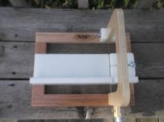 Single-Soap-Cutter-HDPE-soap-cutter-wire-soap-loaf-cutter-adjustable-stop-wooden