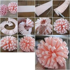 How to make Simple Easy Felt Flower step by step DIY tutorial instructions, How to, how to make, step by step, picture tutorials, diy instructions, craft, do it yourself: