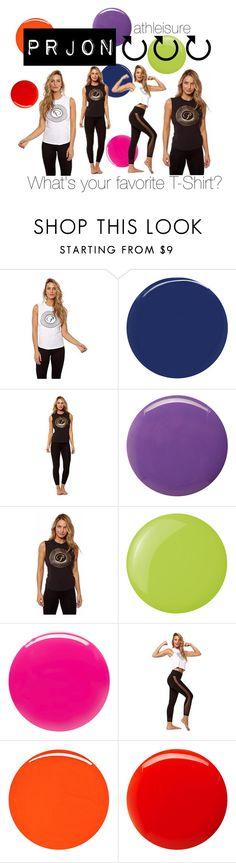 """Favorite T-shirt X Prjon"" by fashionoutletny on Polyvore featuring RGB Cosmetics, Balmain, Essie, Eve Snow, women's clothing, women's fashion, women, female, woman and misses"
