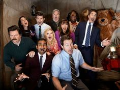 Parks and Recreation 5 bloopers, Italian TV