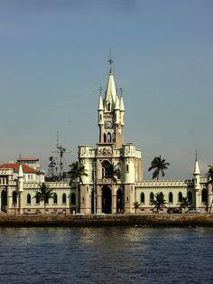 Ilha Fiscal, Baia da Guanabara, Rio de Janeiro, Brasil ~Repinned Via Maria Lacerda