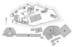 AcropolisatathensSitePlan - Ιερό της Πολιάδος Αθηνάς - Βικιπαίδεια
