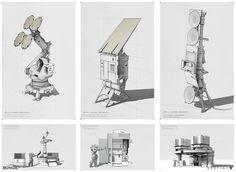 """Destiny concept art. Off-world props.  #Destiny #destinythegame #bungiedestiny #bungie #conceptart #conceptdesign #destinygame #sketch #drawing #videogame…"""