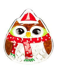 Home Accents® Christmas Owl Platter