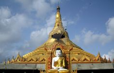 Golden Pagoda by blownmagic.deviantart.com on @DeviantArt
