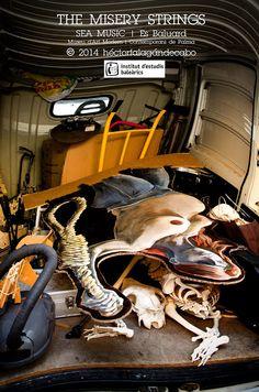 Misery Strings   Sea Music   Es Baluard. Museu d'Art Modern i Contemporani de Palma. Organizado por el Institut d'Estudis Baleàrics. Fotografías del Concierto por Héctor Falagán De Cabo   hfilms & photography. Mallorca, Islas Baleares, España. 3 de octubre de 2014.