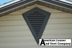 Photos showcasing some of our gable vents. Our aluminum gable vents enhance everything from starter homes to high end homes! From the smallest to the largest gable vents we do it all! Attic Vents, Gable Decorations, Gable Vents, Vent Covers, Starter Home, Habitat For Humanity, Wagon Wheel, Red Barns, Dog Houses