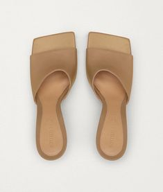 Topshop debuts mules that look IDENTICAL to Bottega Veneta heels Leather Mules, Leather Sandals, Italy Logo, Natasha Oakley, Spring Sandals, Open Toe Sandals, Daily Fashion, Fashion News, Bottega Veneta
