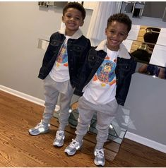 They are too handsome 😍 Baby Boy Swag, Kid Swag, Cute Baby Boy, Cute Little Baby, Pretty Baby, Cute Baby Clothes, Cute Mixed Babies, Cute Black Babies, Beautiful Black Babies