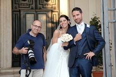 Wedding photographer FRANCESCO CARBONI at work #weddings in Italy #wedding photographer in Rome