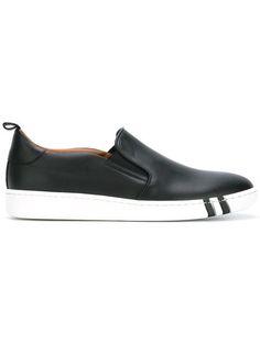 BALLY 'Woila' slip-on sneakers. #bally #shoes #sneakers