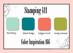 Stamping 411 Color Inspiration 166