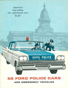 1959 Ford Police Cars ♫♫♫♫ JpM ENTERTAINMENT ♫♫♫♫