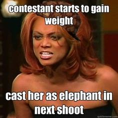 These are friggin' brilliant! #tyra #tyrabanks #antm