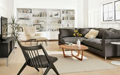 Modern Living Room Furniture - Room & Board
