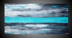 ORIGINAL Abstract Modern Acrylic art Painting by acrylkreativ, $299.00