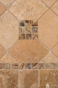 Tuscany Walnut Travertine And Cafe Forest Marble