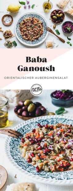Baba Ganoush, Eat This, Vegan Kitchen, Gazpacho, Dressing Recipe, Teller, Vegan Lifestyle, Vegan Recipes, Vegan Food