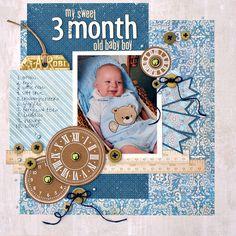 3 month - Scrapbook.com