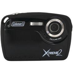 Coleman 16.0 Megapixel Xtreme2 Hd Waterproof Digital Camera (black)