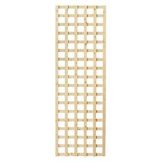 1-1/2 in. x 24 in. x 6 ft. Wood Square Lattice Screen-228224 - The Home Depot