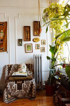Hannah Metz At Home.