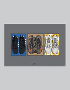 Originaly created sneaker illustrations and limited edition posters. The Ideal prints for sneakerheads. Illustrated kicks by Dan Freebairn. Beast Wallpaper, Hype Wallpaper, Kyrie Irving 2, Hypebeast, Sneakers Wallpaper, Supreme Wallpaper, Nba Wallpapers, Sneaker Art, Hype Shoes