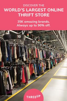 thredUP is the world's largest online thrift store where you can buy and sell high-quality secondhand clothes. Find your favorite brands at up to off. Thrift Store Outfits, Thrift Store Shopping, Online Thrift Store, Thrift Stores, Cheap Shopping, Shopping Places, Casual Outfits, Cute Outfits, Fashion Outfits
