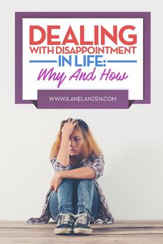 Disappointment | Regret and disappointment are two different things | http://www.ilanelanzen.com/personaldevelopment/dealing-with-disappointment-in-life-why-and-how/