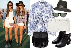 How To Dress For Festival Season — A Style Lesson From Coachella  #Refinery29