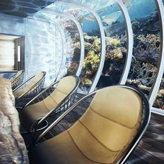 Amazing Futuristic Underwater Discus Hotel Dubai