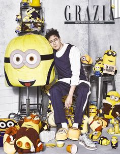 So Ji Sub has an adorable obsession with Minions
