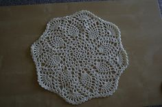 Ravelry: Pineapple Placemat pattern by Priscilla Hewitt
