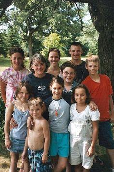 2005 Linwood Township  Kathy Lentz; MaryBeth and Ben Zins; Andrew, Katelin, Stephen, Melissa, Emily and Nathaniel Ballard; Arianna Christian