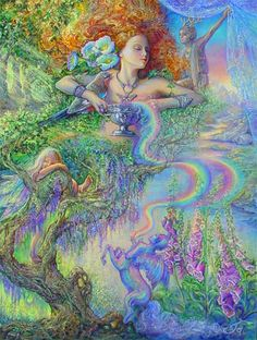 Enchantment  Original Painting by Josephine Wall