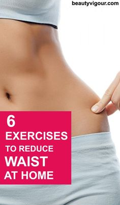 6 Exercises to Reduce Waist at Home #exercises