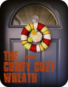 Comfy Cozy Yarn Wreath