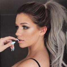 cabelo cinza grey hair 5