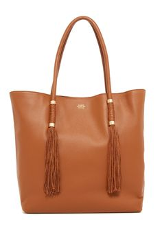 Dessa Leather Tote by Vince Camuto on @nordstrom_rack