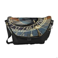 Zodiac Pattern Messenger Bag Accessory