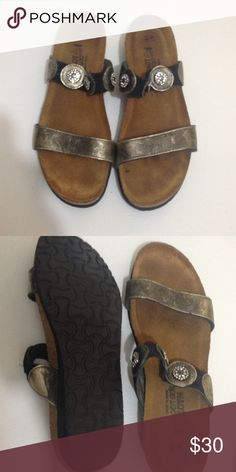 NAOT sandals In excellent used condition haven't been worn much NAOT Shoes Sandals